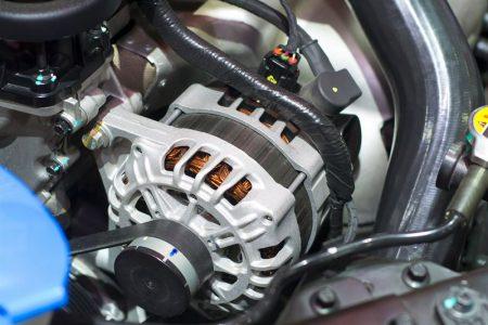 Wymiana alternatora w Opel Astra 3